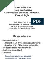 MICOSIS SISTÉMICAS-OPORTUNISTAS2014