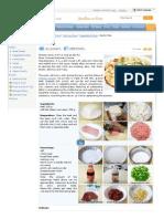 Chinese Ma Po Tofu Recipe