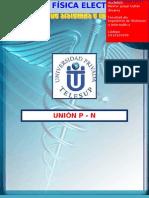 Unión P - N