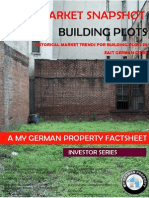 Historical market trends for building plots in East German cities- An Investors guide