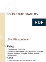 Solid State Stabilityanis
