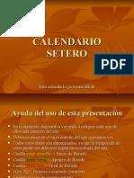 CALENDARIO SETERO