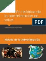 Evolución Histórica de La Administración en Salud