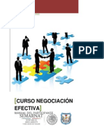 Manual Curso Negociacion Efectiva