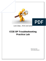 Ccie Sp Tshoot Lab