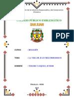 Monografia de Juan Bosco