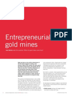 Entrepreneurial Gold Mines