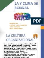 Cultura y Clima Organizacional Power Point.trabajo Principal