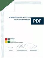 P-PG-SIG-01 Elaboración, Control y Registros de la Documentación  Rev.1.pdf