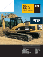 Caterpillar 324D Brochure
