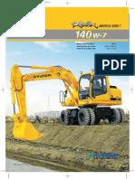 R140W-7 Brochure (Fr)