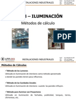 7.2 Iluminación - Métodos de Cálculo
