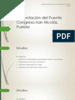 Cimentación Del Puente Congreso-San Nicolás, Puebla