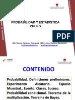 Clase I-II- Nociones de Probabilidades- 2012-II