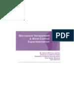 Microwave Harassment & Mind-Control Experimentation