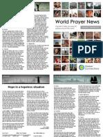 World Prayer News - November / December 2014