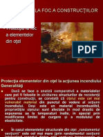 Curs X. Protectia La Foc a Elem Din Otel