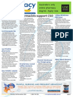 Pharmacy Daily for Mon 03 Nov 2014 - Pharmacists support CSO, EBOS