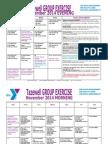 Tazewell November 2014 Group Exercise