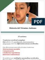 Historia del Término Autismo