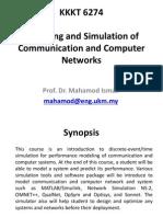 Simulaton & Modeling C&C Network