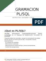 Introducción a la Programacion PL/SQL