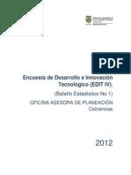 12 WEB Encuesta IV Desarrollo e Innovación Tecnológico