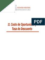 Costos de Oportunidad Y Mat. Financieras