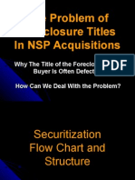 The Problem of Foreclosure Titles Securitized by MERS