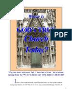 Where Is God's TRUE Church?