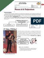 GUIA DE ESTUDIO IIIº - N° 04 - FASE PERUANA DE LA INDEPENDENCIA
