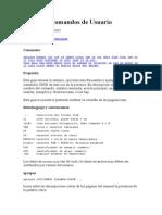Comandos de Usuario Linux