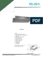 ALP 60WX Datasheet