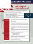 Ebola Fact Sheet for DoD Families of Deploying Personnel