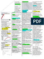 Managerial Econ Cheat Sheet-1