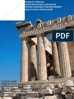 Caracteristicas de la Arquitectura Griega
