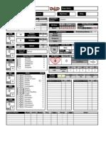 5e Dnd Character Sheet
