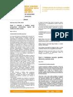 Programación Paneles Congreso Chileno de Sociología 2014