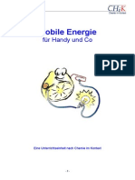 Mobile Energie Fuer Handy Und Co