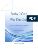 Tapping in Peace When Under Stress by P. Carrington