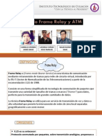 5 Protocolo Frame Relay y ATM
