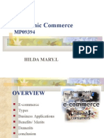 E-Commerce MPhil