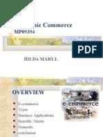 E-Commerce MPhil