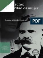 Munnich Susana - Nietzsche - La Verdad Es Mujer