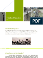 The Occurrence of Earthquakes (English)