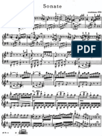 Hayden Sonata in E Minor
