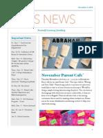 Nov ES Newsletter