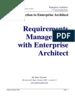 Requirements Management in Enterprise Architect