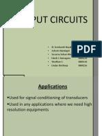 Input Circuits