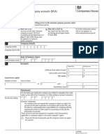 AA02 Post October Dormant Company Accounts Dca